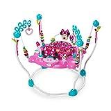 Disney 10299 - Saltador para bebé Minnie Mouse Rosa Columpio Rebotador Bota Bota