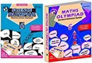 Olympiad Class 6 Combo(Maths + Science) For IMO & NSO (Set Of 2 Bo