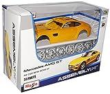 Mercedes-Benz AMG GT S Coupe Gelb Ab 2014 Bausatz Kit 1/24 Maisto Modell Auto