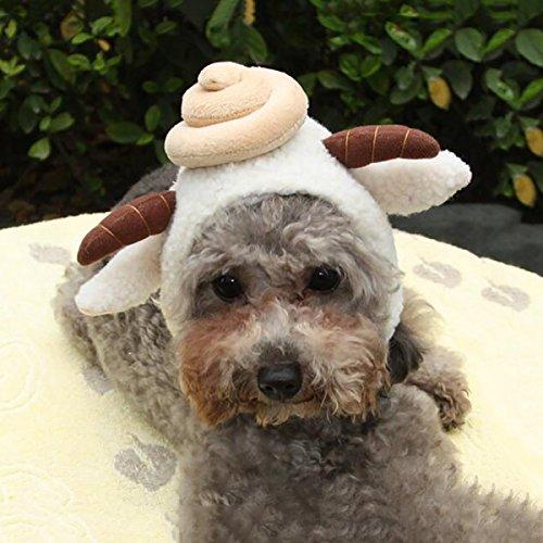 LDFN Haustier Accessoires Sunbonnet Im Freien ändern Sie Die Kappe Haustier Hüte Mützen Dressing (Im Hut Katze Dressing)