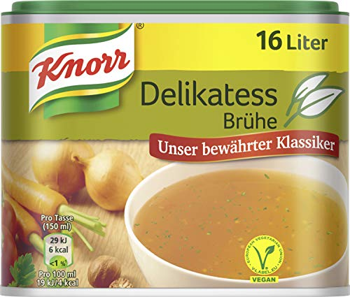 Knorr Würzbasis Delikatess Brühe vegan, 6er Pack (6 x 329 g)