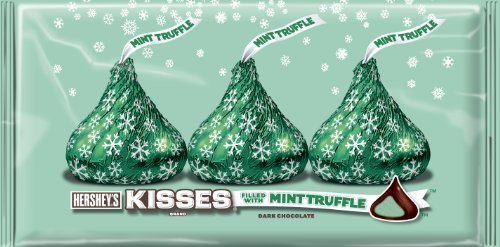 hersheys-holiday-kisses-dark-chocolate-filled-with-mint-truffle-8-ounce-bags-pack-of-4-by-kisses