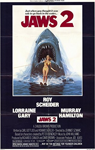 Jaws 2 Movie Poster (27,94 x 43,18 cm)