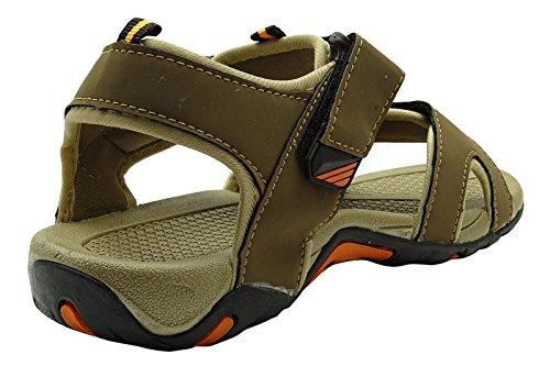 Sonic Hommes pantoufle été floater de sport casual chaussures sandale en plein air Vert clair
