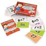 Cayro - Cartatoto Multiplicaciones - Juego Educativo Infantil - Desarrollo de Habilidades matemáticas - Juego de Cartas (4100