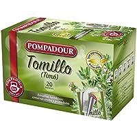 Pompadour Infusión Tomillo - 20 Bolsitas