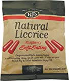 RJ's Natural Soft Eating Raspberry Licorice Bag 300 g (Pack of 3)