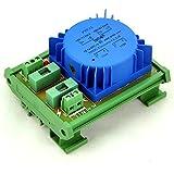 ELECTRONICS-SALON P 230VAC, S 36VAC, 15VA DIN Rail Mount toroidal transformador de potencia módulo.