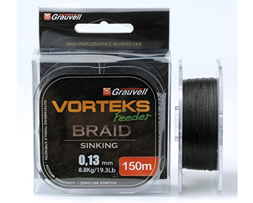 Geflochtene Schnur Vorteks FEEDER BRAID 150 m Ø 0.08 mm