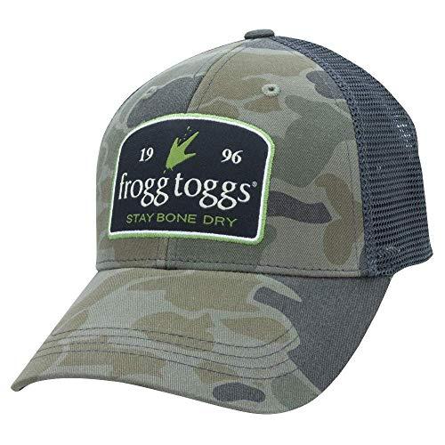 Frogg Togg ftcct5-52Camo Trucker Cap, Cloud Camo/Schwarz Mesh Toggs Cap