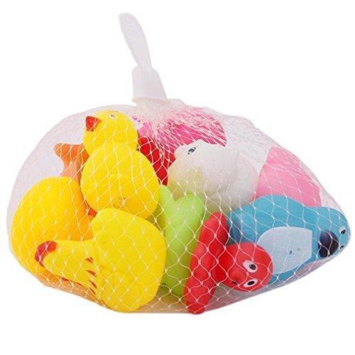 Bunte Baby Kinder Badewannenspielzeug Wasserspielzeug Rasseln Spielzeug Cute Kleine Tier