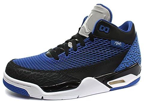 Nike Air Jordan Flight Club 80s Homme Basketball Chaussures, Noir-Bleu, 43
