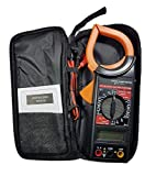 Inditrust Unity-A digital clamp meter Multimeter Ammeter Tong Tester, AC or DC Continuity Current, Fuse and Diode Protection and Voltage Measurement, Safe and Accurate with Carry Case