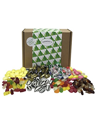 Sugar Free Sweet Hamper - 8 Bags Of Sugar Free Sweets Suitable For A Diabetic Diet - Hamper Exclusive To Burmont's