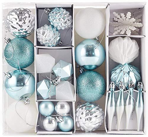 Adornos de Navidad de color turquesa , Tienda online de