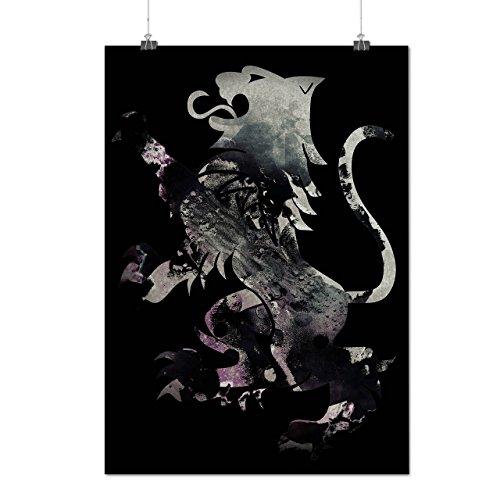 rampant-lion-scotland-wild-flag-matte-glossy-poster-a2-60cm-x-42cm-wellcoda