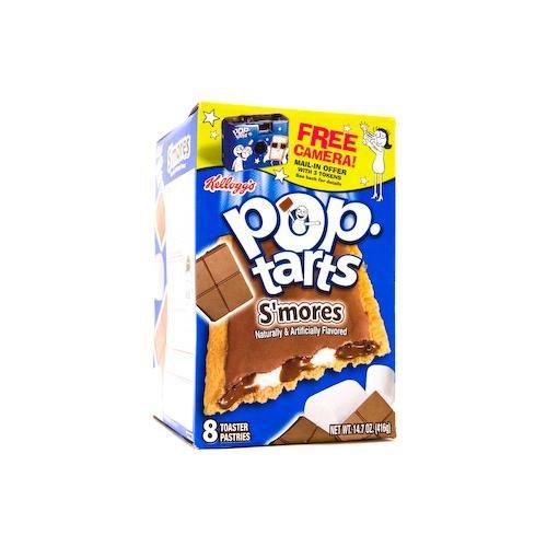 Kellogg's S'mores Pop Tarts 14.7 OZ (416g) (S Mores Pop Tarts)