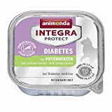 Animonda Integra Protect Diabetes mit Putenherzen | 16x 100g