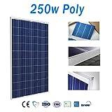 Panel solar 250w 60 Células 24v Polycrystalline Fotovoltaica
