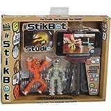 Stikbot - 32880.012 - Loisirs créatifs - Studio d'Animation - 2 figurines et 1 Trépied pour Smartphone