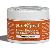 Purelygreat Natural Deodorant For Women Citrus 1.6 Oz