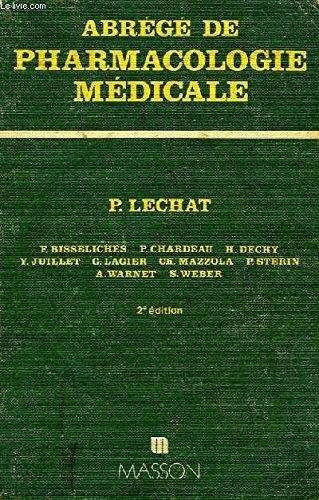Abrégé de pharmacologie médicale