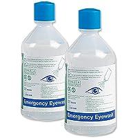 Safety First-Aid Eyewash Refill Saline Bottle 500ml Ref E404 preisvergleich bei billige-tabletten.eu