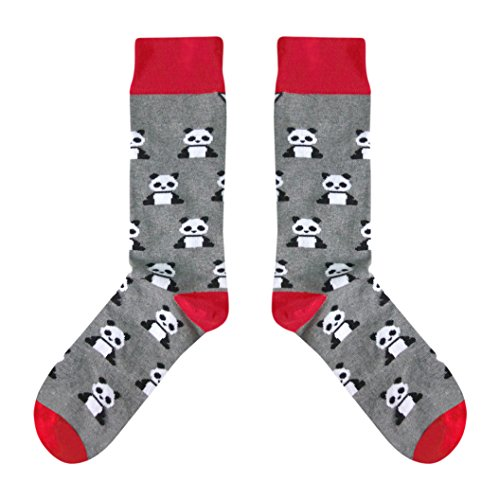 CUP OF SOX - Pandas/Tiere/Bär - Socken in der Tasse - Herren und Damen Baumwolle Freizeit Socken (41-44)