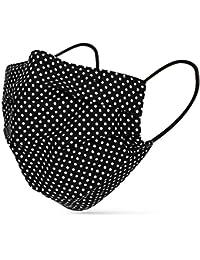 tanzmuster ® Behelfsmaske waschbar 100% Baumwolle - OEKO-TEX 100 mit Nasenbügel und Filtertasche - Community Maske handmade und wiederverwendbar