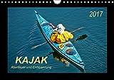 Kajak - Abenteuer und Entspannung (Wandkalender 2017 DIN A4 quer): Kajak, wilde Flüsse bezwingen oder ruhig über das Wasser gleiten - Abenteuer und ... (Monatskalender, 14 Seiten ) (CALVENDO Sport)