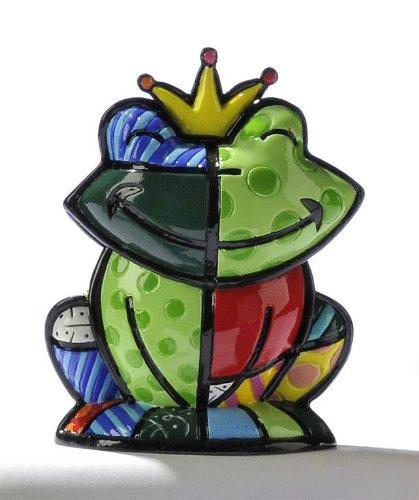 Romero Britto - Mini Frog - Prince Charming Figurine