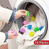 Zhi Jin 5x wiederverwendbar Eco Laundry Ball von Staubbeutel massiv Maschine Waschen Kugeln Trinkglas Trockner Set Home Bad 5cm, plastik, 5 Stück