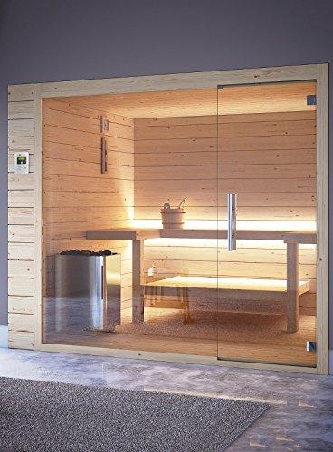 grandform Bio Sauna Finnische Elektrische Raumheizung 5Arbeitsplätze (2Sitzlösung) Bio Pro 2015(cm. 200x 200x 208H.)