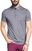 ESPRIT Collection Men's Two Tone PI Short Sleeve Polo Shirt