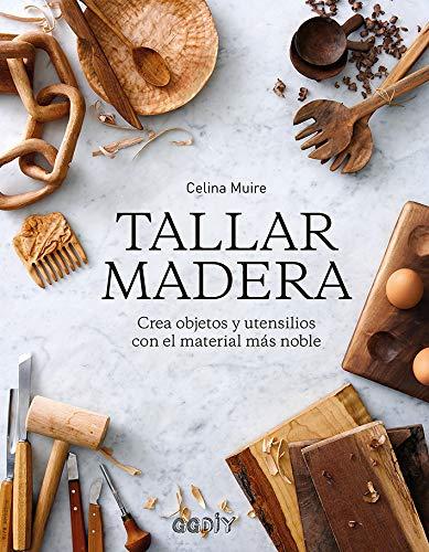 Tallar madera Crea objetos utensilios material más