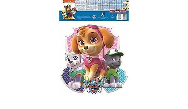 29,7 x 5 x 42 cm Plastique IMAGICOM WALLPAT30 Stickers Amovible et Repositionnable A3 2 Feuilles Multicolore