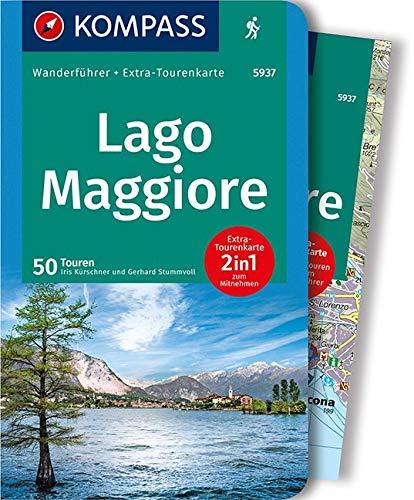 Guida escursionistica n. 5937. Lago Maggiore. Con carta: Wanderführer mit Extra-Tourenkarte 1:60.000, 50 Touren, GPX-Daten zum Download.