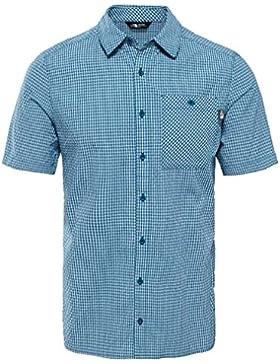 The North Face M S/S hypress Shirt Blue Coral plai Camicia, uomo, UOMO, M S/S Hypress Shirt Blue Coral Plai, blu...