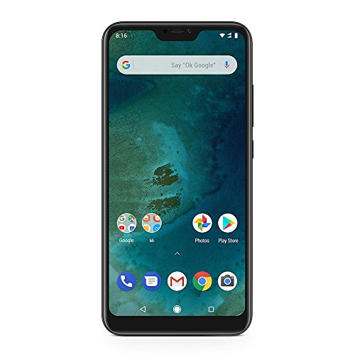 Xiaomi Mi A2 Lite 64 GB, Black, Global Version의 듀얼 심 스마트 폰