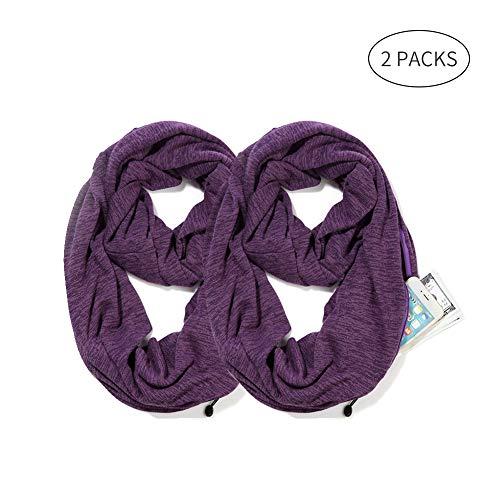 Infinity Schal für Damen, Mädchen, Herren, sehr bequem, dehnbar - - Einheitsgröße (Kinder Infinity-schals)