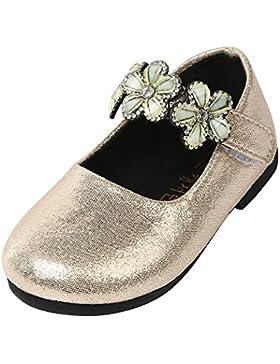 ️️Lonshell ❤️Bebe Niña Zapatos Recien Nacido Primeros Pasos Flores Sandalias Zapatos de Princesa de moda