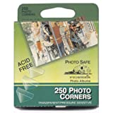 Pioneer Photo Angoli Autoadesivo, Clear, 250-pack