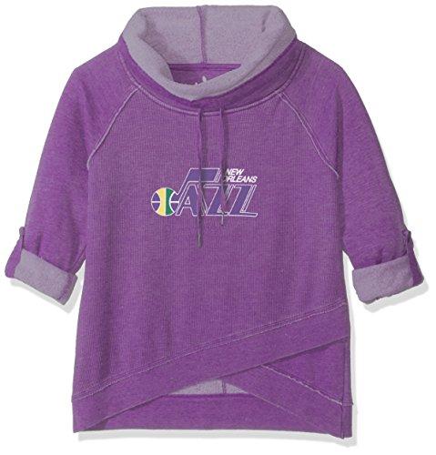 Touch by Alyssa Milano NBA Wildcard-Top, Damen, Hardwood Classic Wildcard Top, violett, Large Nba-damen Sweatshirts