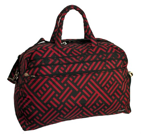 jenni-chan-signature-soft-gym-duffel-black-red-one-size
