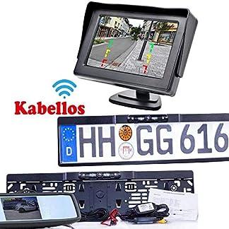 Drahtlos-Funk-Kabellose-Rckfahrkamera-mit-Abstandslinien-Farb-Monitor-Bis-zu-5-Jahre-Garantie-fr-PKW-Auto-Transporter-KFZ-Bus-Kamera-Car-Rear-View-Camera