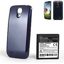 Mbuynow 6400mAh Li-ion Batería Extendida para Samsung Galaxy S4 i9500 con la Contraportada Azul Oscuro