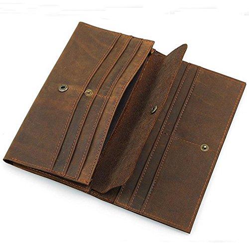 boshiho ,  Herren-Geldbörse, braun - Gucci Card Wallet