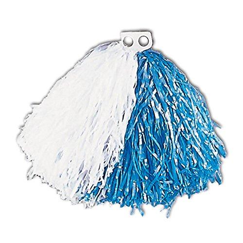 Widmann 1092N - Pom Pom, weiß / (Blaue Kostüm Und Weiße Cheerleader)