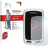 3x Vikuiti MySafeDisplay Film(s) de protection d'écran DQCT130 de 3M pour Garmin Edge Touring