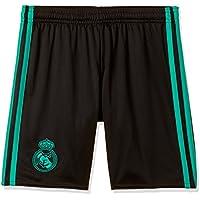 Adidas SHO Y Pantalón Corto Línea Real Madrid, niños, Negro (arraer), 176